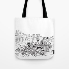 1944 Willys Jeep Tote Bag