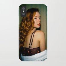 Hattie iPhone X Slim Case