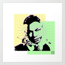 Nat King Cole Art Print