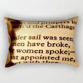 Words number 2 Rectangular Pillow