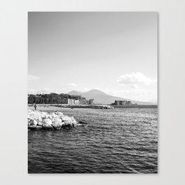 Naples and the Vesuvius Canvas Print