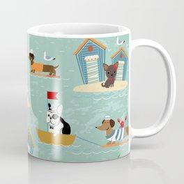 The Ultimate Dog Vacation pattern Coffee Mug