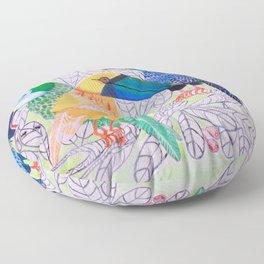 Squawkward Silence Floor Pillow