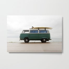 Superior Surf Metal Print