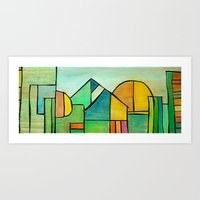 View of the World Through a Child's eyes Art Print