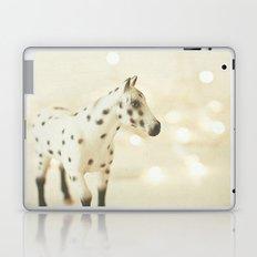 Horse in Winter Laptop & iPad Skin