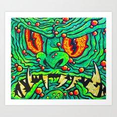 GLORT!! Art Print