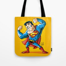 Strong man in Costume Tote Bag
