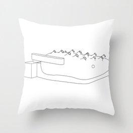Kunsthaus Graz Throw Pillow
