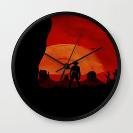 """Redemption Is Dead"" Wall Clock"