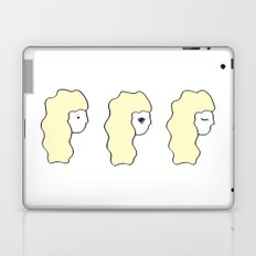the 3 stages of my day Laptop & iPad Skin