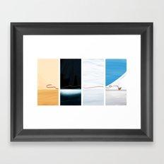 (the) Journey  Framed Art Print