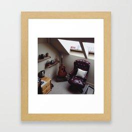 Room Corner Framed Art Print