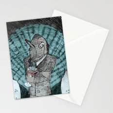 Smells like fish Stationery Cards