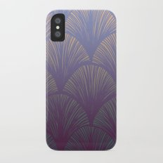 Iridescent Feathers iPhone X Slim Case