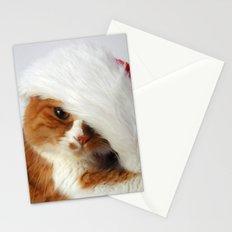 Santa Cat Stationery Cards