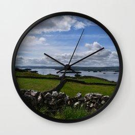 Irish Pastures Wall Clock