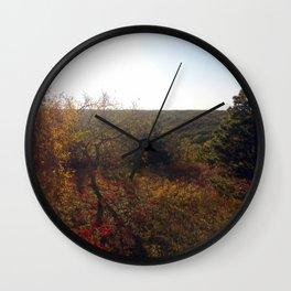 Nature's Fall Wall Clock