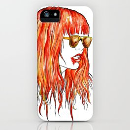 sweet fire iPhone Case