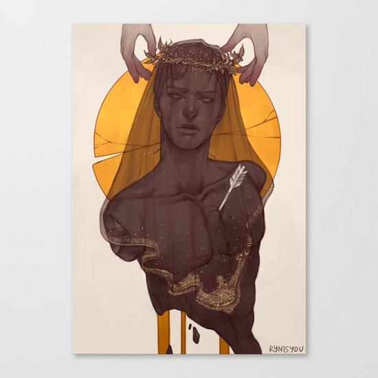 Fallen Prince Canvas Print