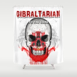 To The Core Collection: Gibraltar Shower Curtain