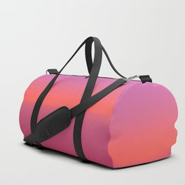 Pink TwoTone Duffle Bag