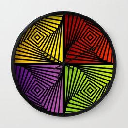 Vortex illusion Wall Clock