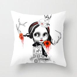 Internal Everafter Print#4 Throw Pillow