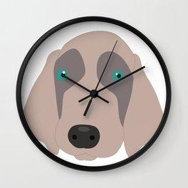 Chet to Pipa Wall Clock