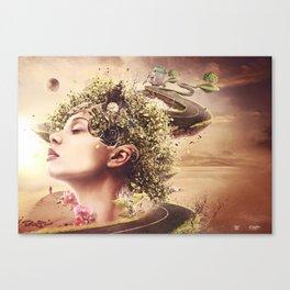 Garden of Mind Canvas Print
