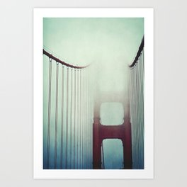 Over The Bridge Art Print