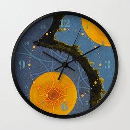 Aquamarina Three Wall Clock