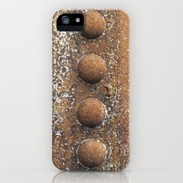 Rivet heaven iPhone Case