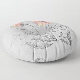Icelandic Poppy Floor Pillow