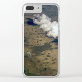 Enigmatic Escapes Marsh Clear iPhone Case
