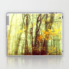 Woodland Abstract Laptop & iPad Skin