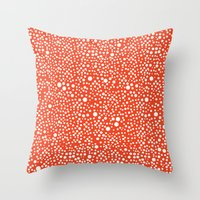 amelie Throw Pillows featuring Amelie by lumvina