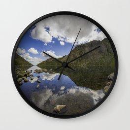 Llyn Llydaw Wall Clock