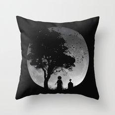 SLEEP WALKER Throw Pillow