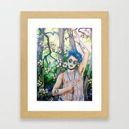 Dogwood Daydreams Framed Art Print