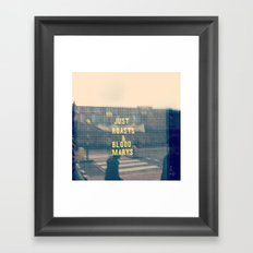 Just Roasts & Bloody Marys Framed Art Print