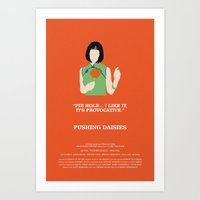 pushing daisies Art Prints featuring Pushing Daisies - Vivian by MacGuffin Designs