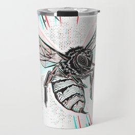 This wasp is pissed! Travel Mug