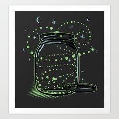 The Empty Jar of Fireflies Art Print