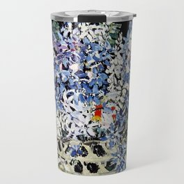 """Mixed Flowers in a Basket"" by Margaret Preston Travel Mug"