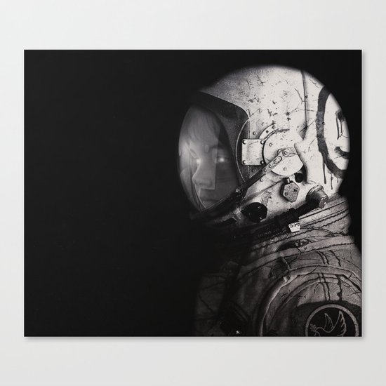 Staring into space Canvas Print