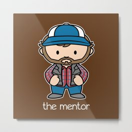 The Mentor Metal Print