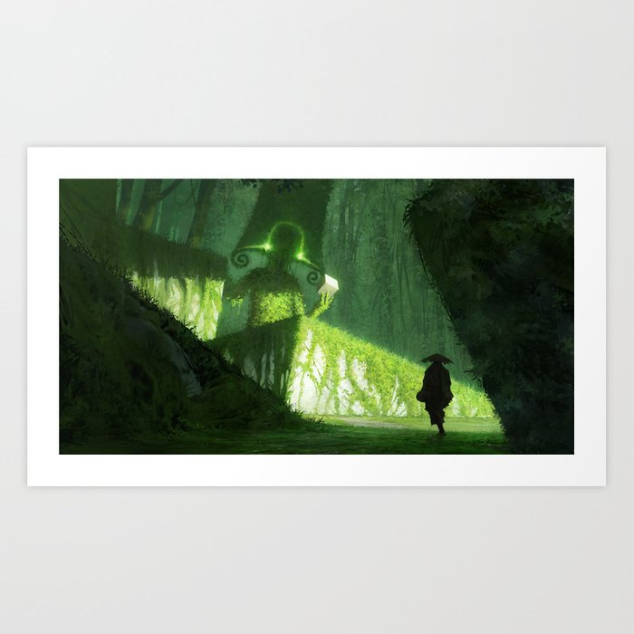 hey psst, wanna buy some cubes Art Print