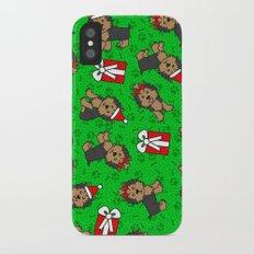 Merry Yorkies Slim Case iPhone X