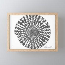 spiral 7 Framed Mini Art Print
